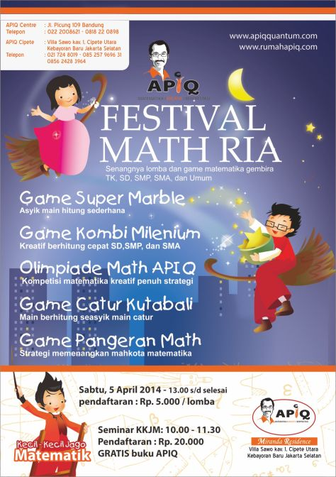 Lomba Game Matematika Asyik APIQ