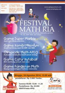 Festival Math Ria 2014
